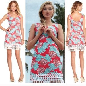 Lilly Pulitzer Thompson shift dress in Coralina